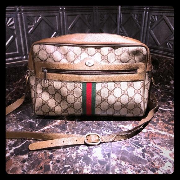 Gucci Handbags - Gucci GF ophidia coated canvas shoulder bag